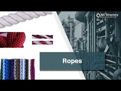 Rope Manufacturers Suppliers | IQS Directory
