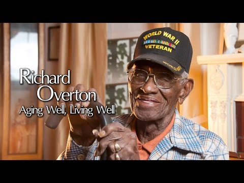 Oldest vet leads by example
