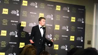 Chandler Massey on His 2012 Daytime Emmy Win