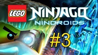 LEGO Ninjago Nindroids Video Game Walkthrough - Part 3 {PS Vita}