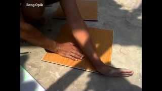Cara Mudah!! Cara Memotong Keramik tanpa Mesin Pemotong - Cutting Ceramic without Machine