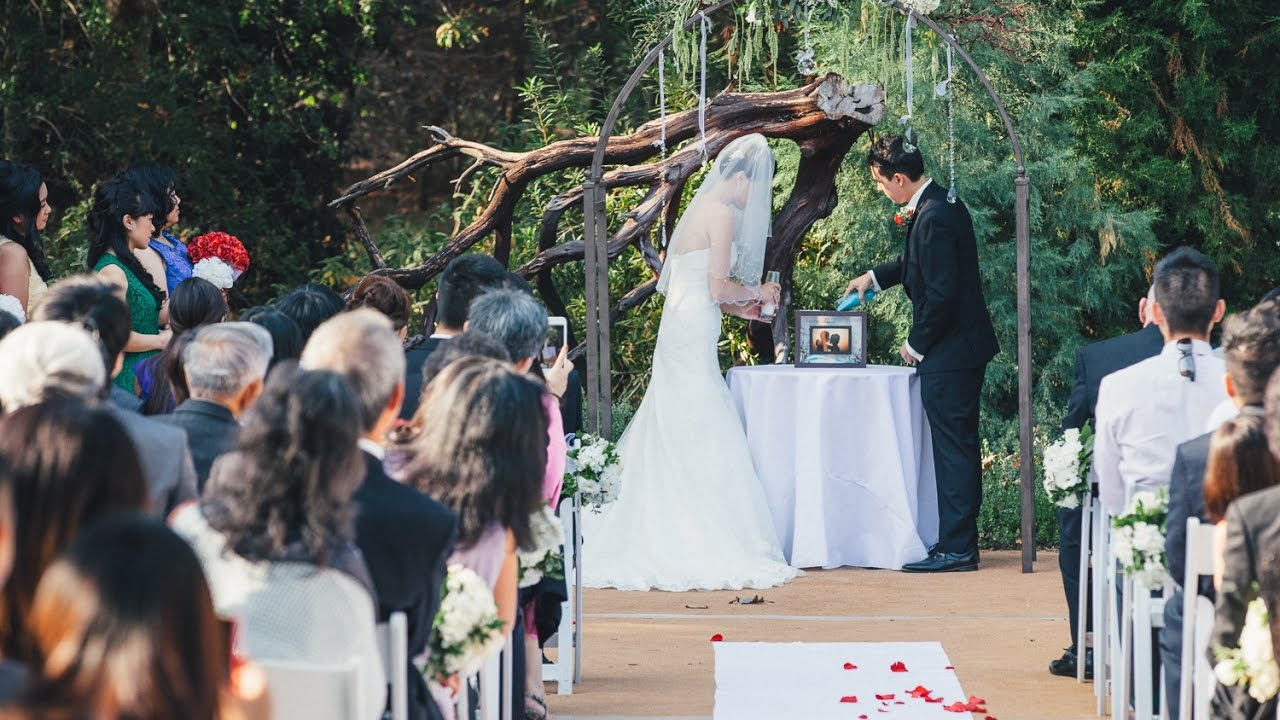 Superbe Rancho Santa Ana Botanic Garden Wedding Video