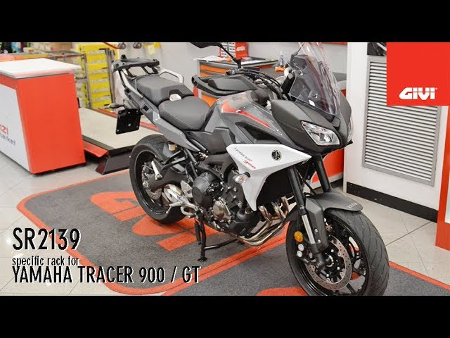 Yamaha Tracer 900 And Gt Givi Sr2139 Specific Rack For Youtube