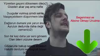 Ekin Uzunlar-Son Bir Kez  (Şarkı Sözleri) Video