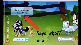 BEWARE OF THESE 5 SCAMMERS, SK2005... - ANIMAL JAM