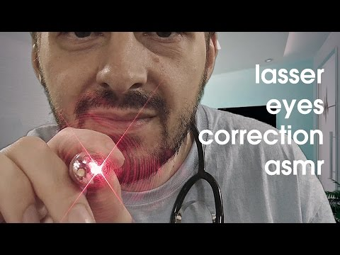 Doctor Medical Laser Eyes Correction ASMR Role Play