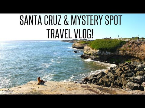 THE MYSTERY SPOT BIG SECRET REVEALED! SANTA CRUZ TRAVEL VLOG #5