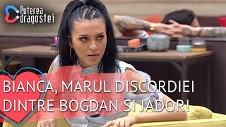 Bianca marul discordiei dintre Bogdan si Jador Mocanu sia bagat mana in parul Biancai Motivul?