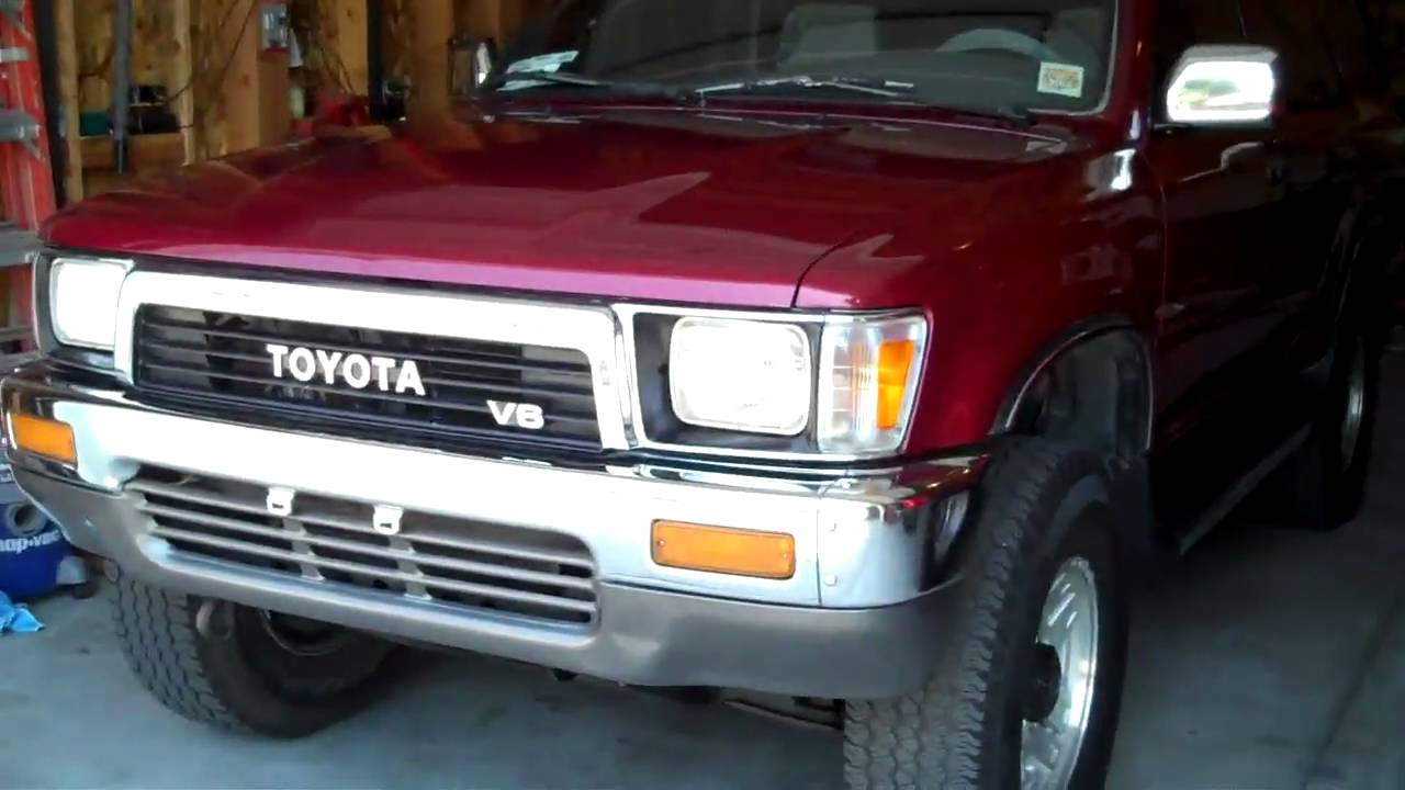 1994 Toyota 4runner Engine 1994 Free Engine Image For
