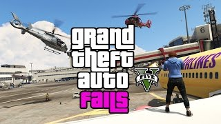 Awesome GTA 5 funny moments compilation - grand theft auto bugs