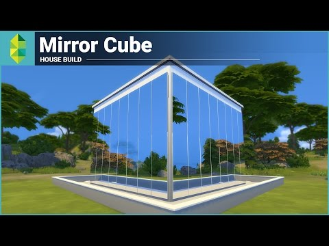 The Sims 4 House Building - Mirror Cube