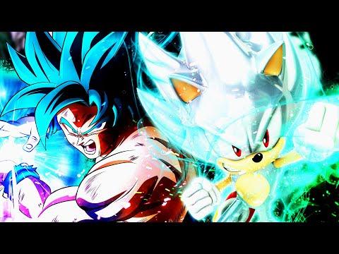 Ultra Instinct Goku vs Hyper Sonic