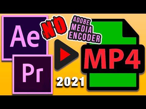 Как сохранить видео After Effects 2020 в MP4 БЕЗ Media Encoder