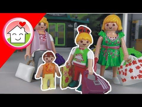 Playmobil Film deutsch Shopping mit Familie Hauser von family stories
