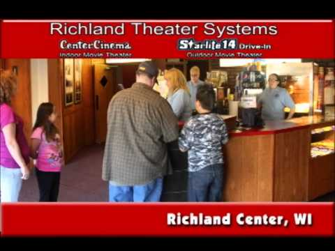 Richland Center Wisconsin's Center Cinema and Starlite 14 On Our Story's Outside Sweet Swine County