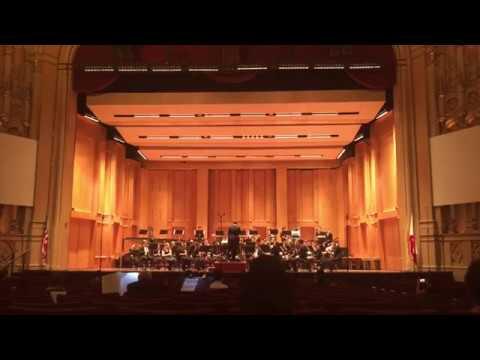 RBHS Wind Ensemble at Copley Symphony Hall - 2017