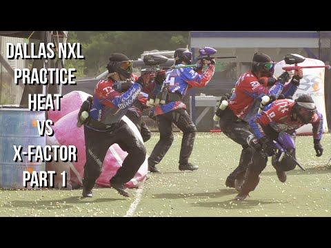 HEAT VS X-FACTOR DALLAS PRACTICE PT. 1 + I BROKE MY CAMERA