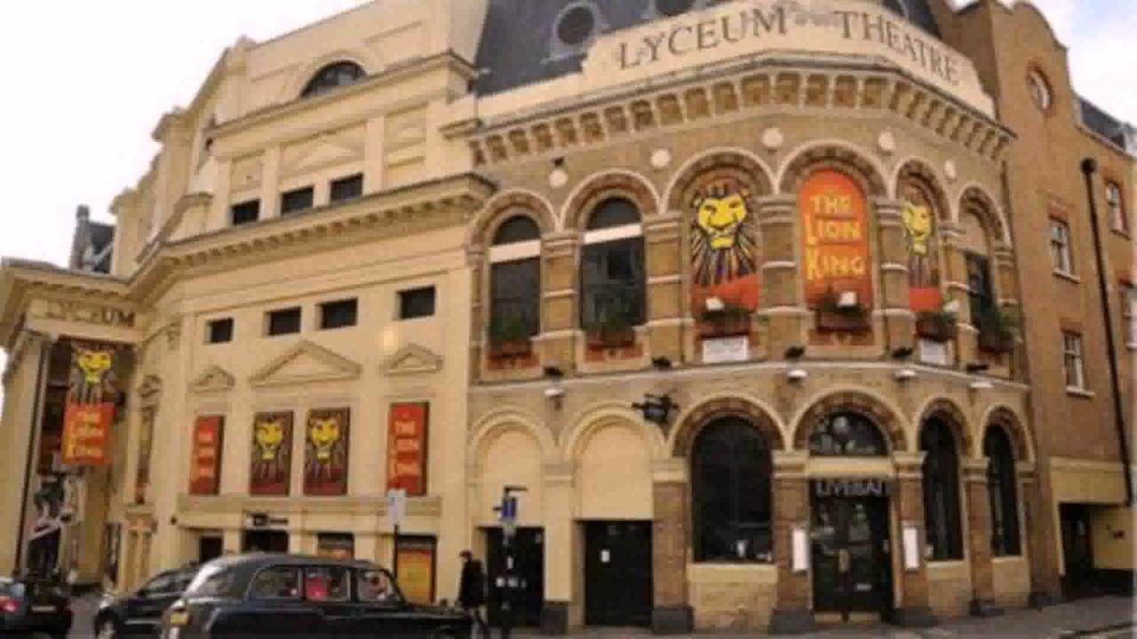 Lyceum Theatre Floor Plan London See Description Youtube