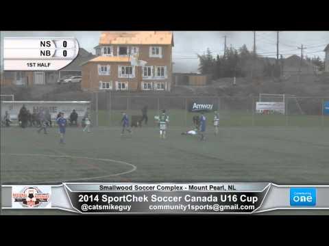 Halifax City U16 Boys Soccer Team vs Fundy (First Half Only)