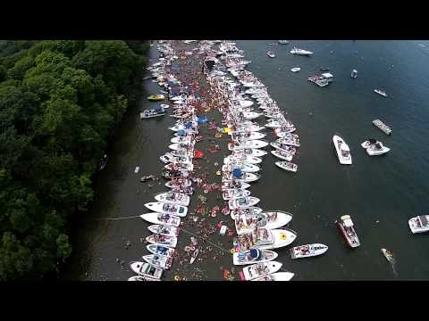 4th of July at Big Island, Lake Minnetonka