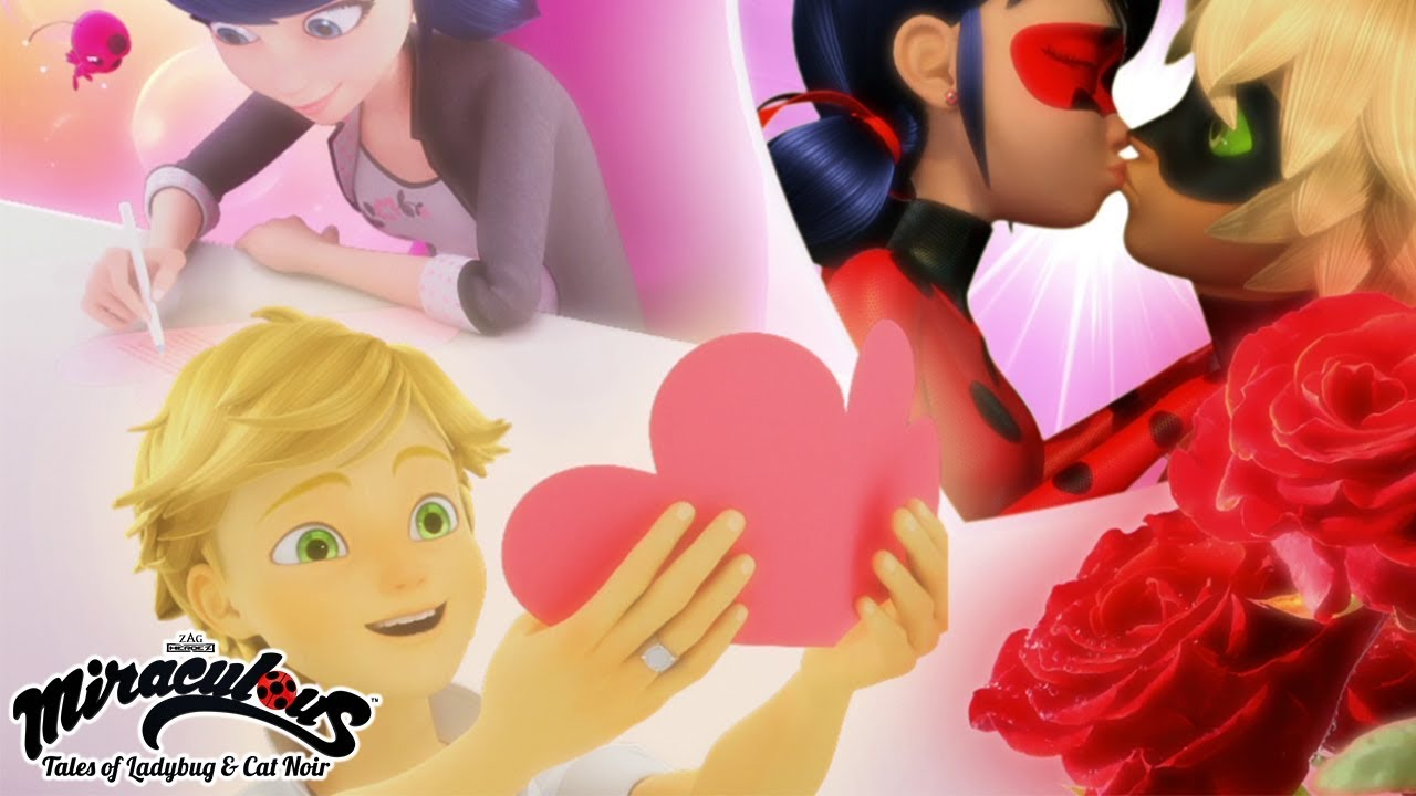 MIRACULOUS | 🐞 VALENTINE'S DAY - COMPILATION 🐞 | Tales of Ladybug and Cat  Noir