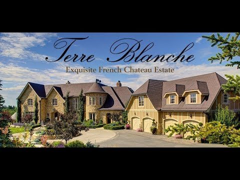 Terre Blanche: Exquisite French Chateau Estate in Calgary, Alberta * For Sale *