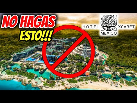 HOTEL XCARET MEXICO 🔴 NO HAGAS ESTO ❌YA SABIAS ESTO? ► CANCUN TODO INCLUIDO 👉 ALL FUN INCLUSIVE