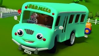 Колеса на автобусе | Потешки | Дети песни | | Nursery Rhyme | 3D Kids Song | Wheels on the Bus