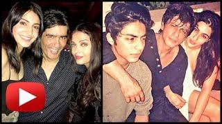 Karan johar birthday party: shahrukh khan, aryan, sara ali khan chill out | inside pictures