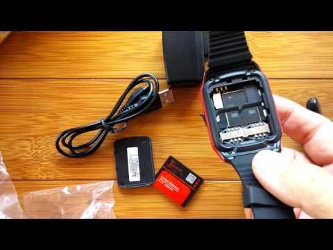 Kenxinda W10 Qwerty Keyboard Slider Smart Watch Phone: Unboxing
