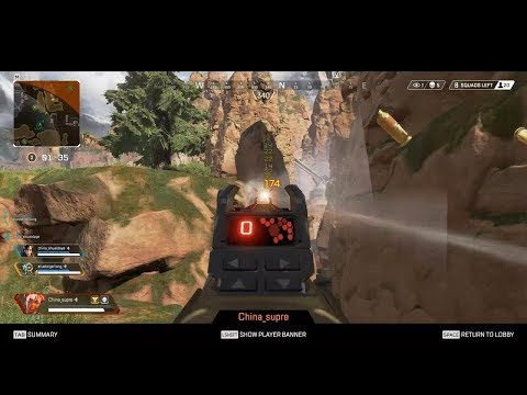Apex Legends - Chinese player using aimbot / hack