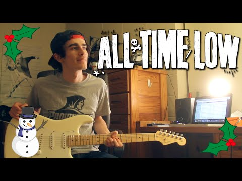 All Time Low - Merry Christmas Kiss My Ass (Guitar & Bass Cover w/ Tabs)