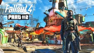 Fallout 4 Gameplay Walkthrough, Part 2 - DIAMOND CITY!!! (Fallout 4 PC Ultra Gameplay)