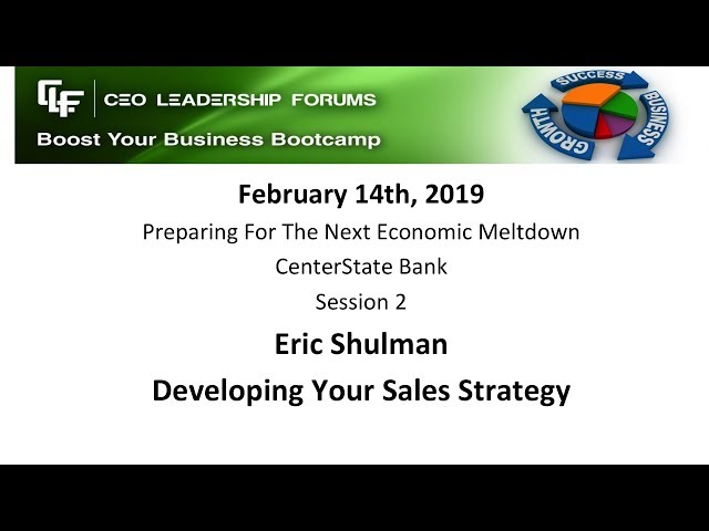 2019 02 14 CEO Leadership Session 02 Schulman