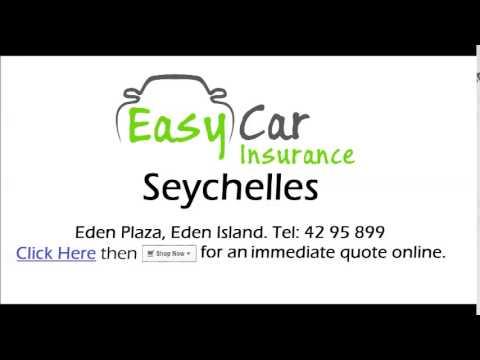 Easy Car Insurance Seychelles Radio Advert - English