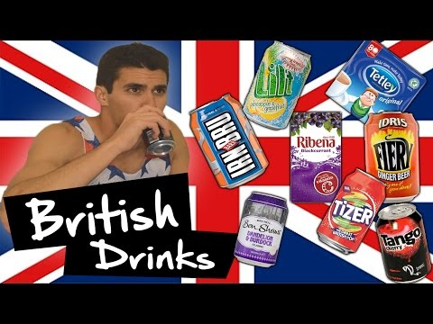 American Tries British Drinks!!!
