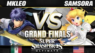 FOX MVG | MkLeo (Ike) vs eU | Samsora (Peach) - Ultimate Grand Finals - SC United