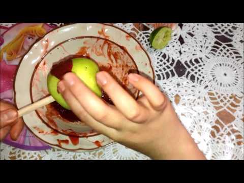 MANZANAS CON CHAMOY! - YouTube