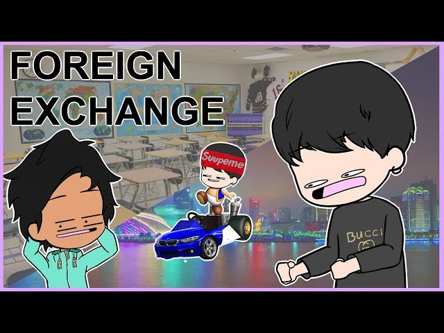 The Hilarious & Pure Foreign Exchange Student at my School (Animated Story)