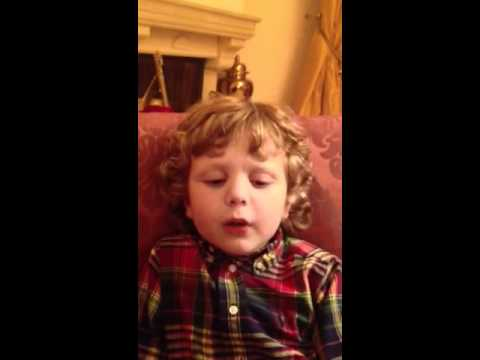 Benjamin Sings Smuglyanka