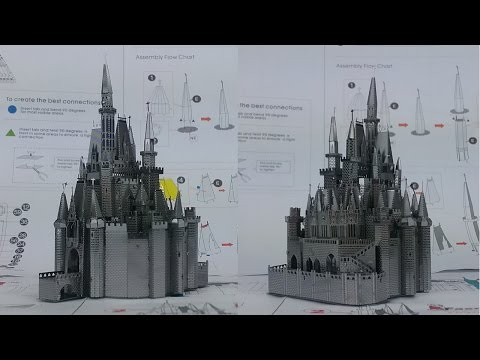 Metal Earth Build - Cinderella's Castle - Disney Exclusive