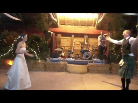 Kate and Ali - Best Scottish Wedding Dance EVER!!!