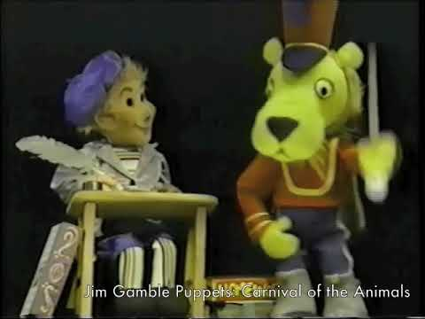 Scenes from Carnival of the Animals - Jim Gamble Puppet Productions