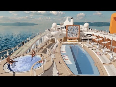 Check out Celebrity Cruises' $1 billion new ship Celebrity Edge