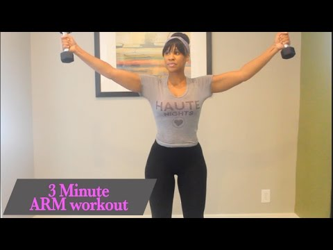 Get toned Arms in 3 minute