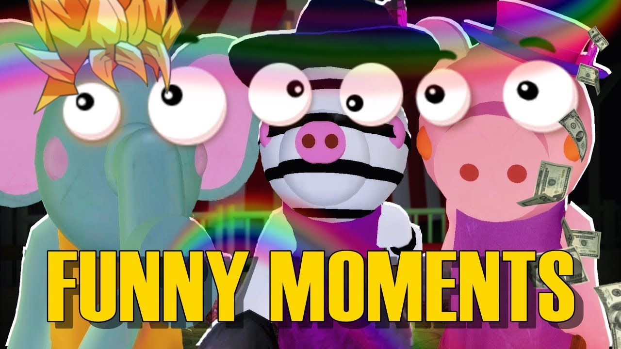 Roblox Piggy Funny Moments Part 1 Youtube