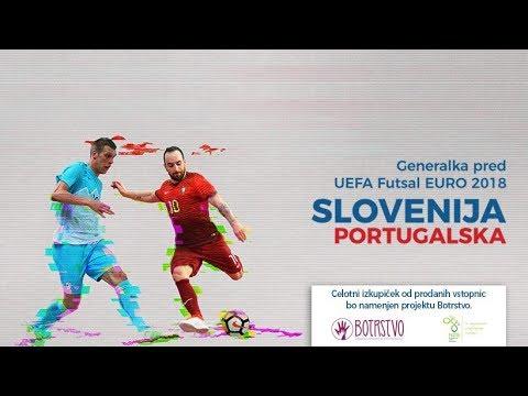 Prijateljska tekma: Slovenija - Portugalska