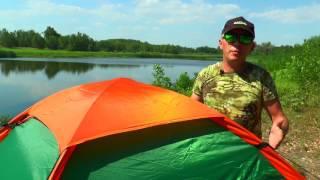 Обзор туристической палатки Raffer Delight