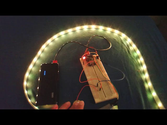 ESP8266 Wifi controllable Touch Sensitive RGB LED Strip