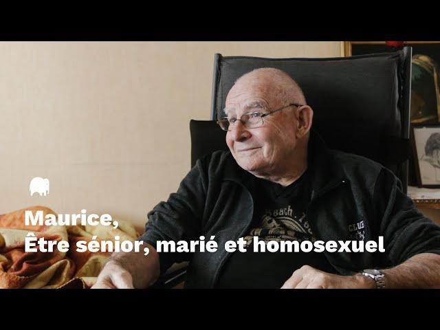Maurice, être sénior, marié et homosexuel